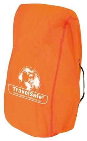TravelSafe pláštěnka přes batoh Combipack M oranžová