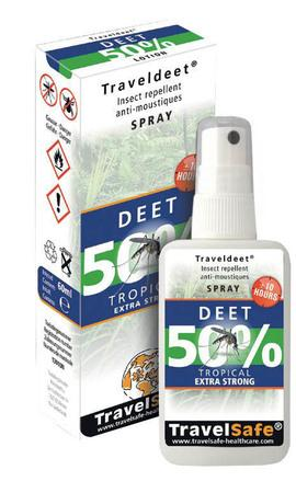 TravelSafe repelent Traveldeet 50% sprej