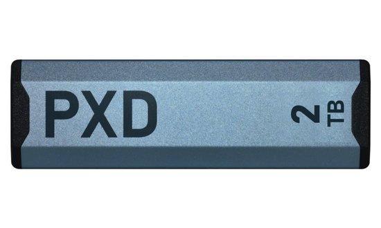 PATRIOT PXD 2TB SSD / Externí / M.2 PCIe Gen3 x4 NVMe 1.3 / USB 3.2 Type-C, PXD2TBPEC