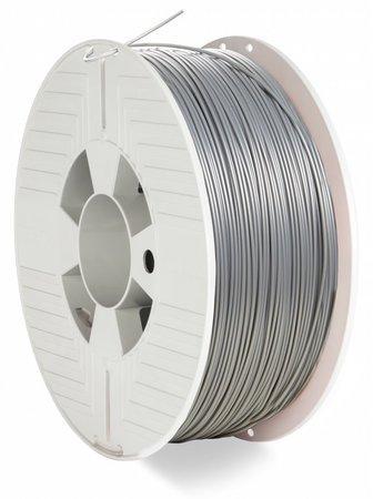 VERBATIM 3D Printer Filament ABS 1,75mm 1kg silver/metal grey (OLD PN 55016), 55032