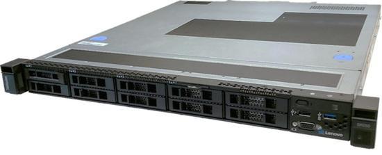 """Lenovo ThinkSystem SR250 Xeon E-2278G 8C 80W 3.4GHz/1x16GB/0GB 2.5"""" HS(8)/SW RAID/XCC-S/450W , 7Y51A07CEA"""