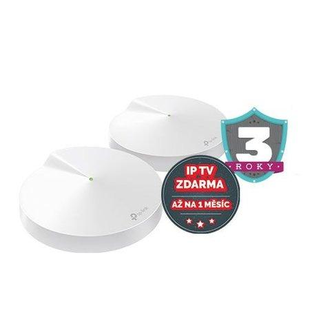 TP-LINK Deco M5 2-Pack AC1300 whole home Mesh WiFi system 2-pack MU-MIMO Antivirus (P)