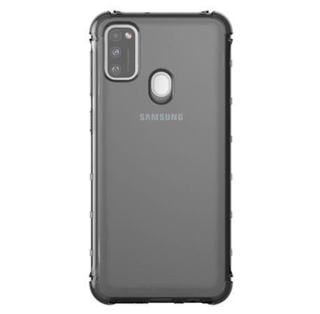 Samsung Poloprůhledný kryt pro Galaxy M21 Black