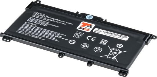 Baterie T6 power HP 250 G7, 255 G7, 15-cs000, 15-da000, 17-by000, 3600mAh, 41Wh, 3cell, Li-pol, NBHP0149