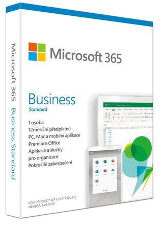 Microsoft 365 Business Standard P6 Mac/Win, 1 rok, CZ, KLQ-00458