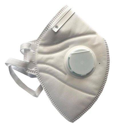 IMMAX respirátor tvarovaný/ třída KN95/FFP2/ norma EN149: 2001+A1 2009 a EN14683:2019/ výdechový ventil