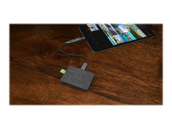 SEAGATE Ultra Touch SSD 500GB Black USB 3.0 & USB-C