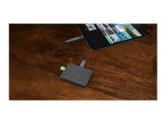 SEAGATE Ultra Touch SSD 1TB Black USB 3.0 & USB-C, STJW1000401