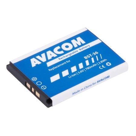 Baterie Avacom pro Sony Ericsson J300, W200 Li-Ion 3,7V 780mAh