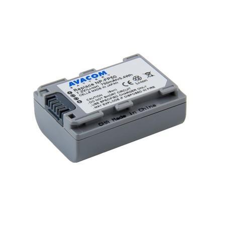 Náhradní baterie AVACOM Sony NP-FP50 Li-ion 7.2V 750mAh 5.4Wh verze 2015