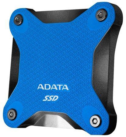 ADATA externí SSD SD600Q 480GB blue, ASD600Q-480GU31-CBL