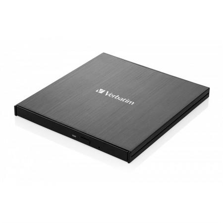 VERBATIM Externí Blu-ray Slimline vypalovačka USB 3.1 Gen 1 (USB-C), 43889