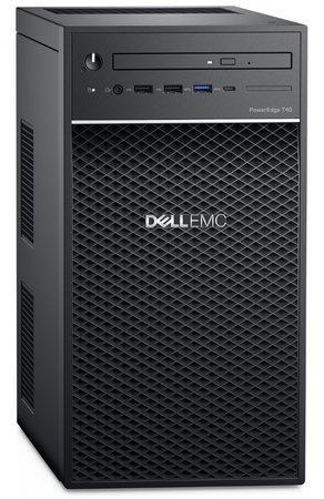 DELL PowerEdge T40/ Xeon E-2224G/ 8GB/ 2x 480GB SSD RAID 1 + 1x 1TB (7200)/ DVDRW/ 3Y PS NBD on-site, T40-824811-3PS