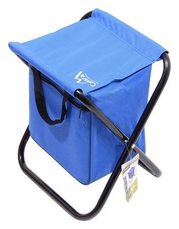 Fotografie Židle kempingová skládací MALAGA modrá CATTARA