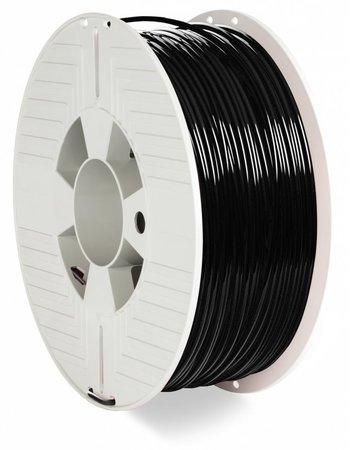 VERBATIM 3D Printer Filament PLA 2,85mm 1kg black, 55327
