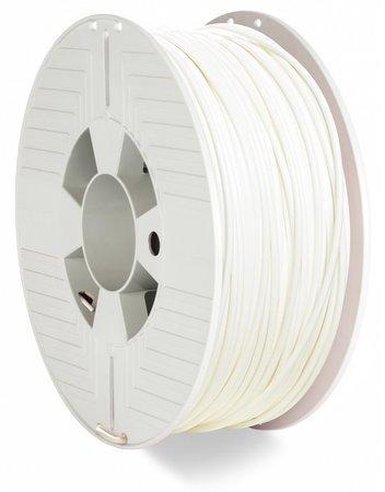 VERBATIM 3D Printer Filament PLA 2.85mm 1kg white (2019), 55328