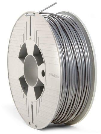 VERBATIM 3D Printer Filament PLA 2.85mm 1kg silver (2019), 55329