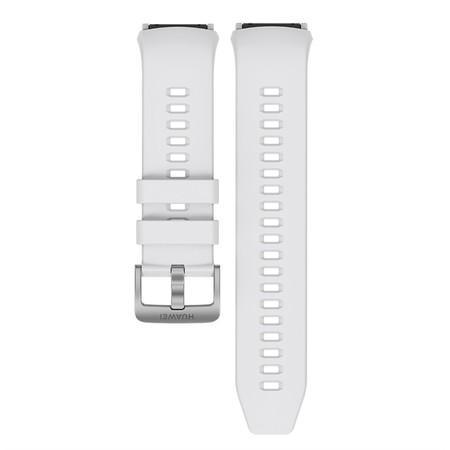 Řemínek Huawei silikonový pro Huawei Watch GT 2e - bílý
