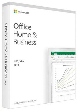 Microsoft Office Home and Business 2019 ENG (pro podnikatele), T5D-03308