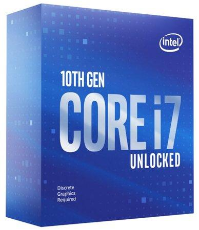 INTEL Core i7-10700KF 3.8GHz/8core/16MB/LGA1200/No Graphics/Comet Lake, BX8070110700KF