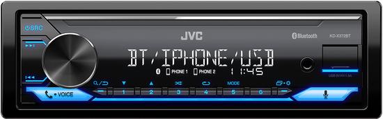 JVC KD-X372BT AUTORÁDIO BT/USB/MP3