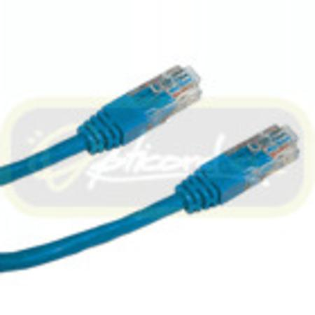 UTP patch cord OPTIX Cat5e, 1m, modrý, 859558901513