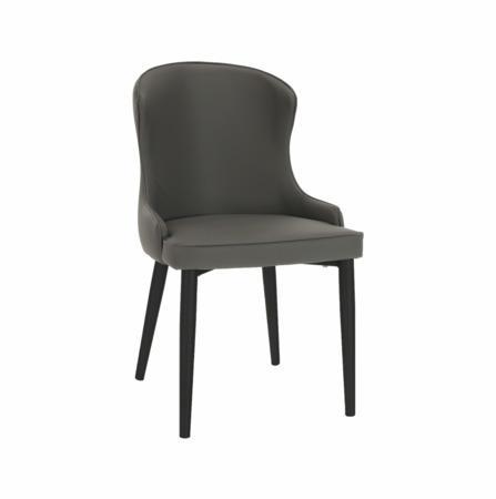 Tempo Kondela Jídelní židle, šedá/černá, SIRENA