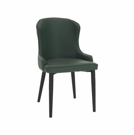 Tempo Kondela Jídelní židle, zelená/černá, SIRENA
