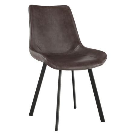 Tempo Kondela Jídelní židle, hnědá, NIRO