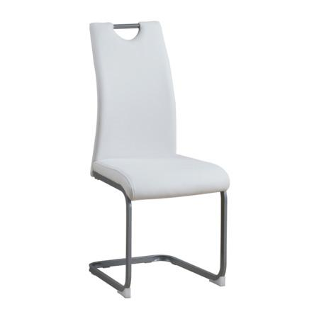 Tempo Kondela Jídelní židle, bílá, DEKOMA