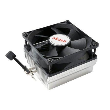 AKASA chladič CPU pro AMD / AK-CC1107EP01 / AM4 / AM3+ / Hliníkový / 4pin PWM, AK-CC1107EP01