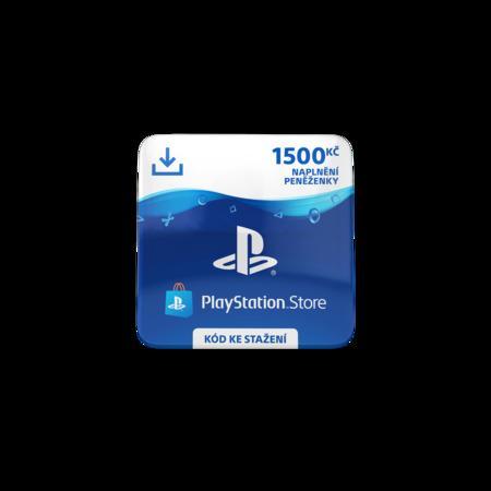 ESD CZ - PlayStation Store el. peněženka - 1500 Kč