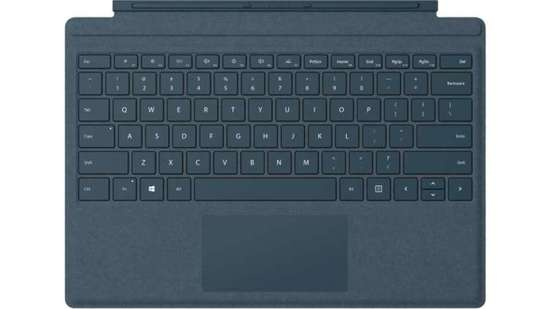 Microsoft Surface Pro Signature Type Cover (Cobalt Blue), Commercial, CZ&SK