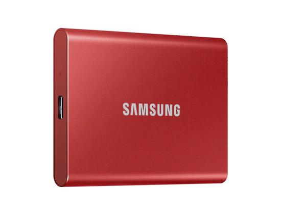 SSD 500GB Samsung externí , červený, MU-PC500R/WW