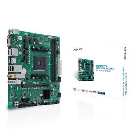 ASUS MB Sc AM4 PRO A320M-R WI-FI/CSM, AMD A320, 2xDDR4, VGA, mATX, WI-FI