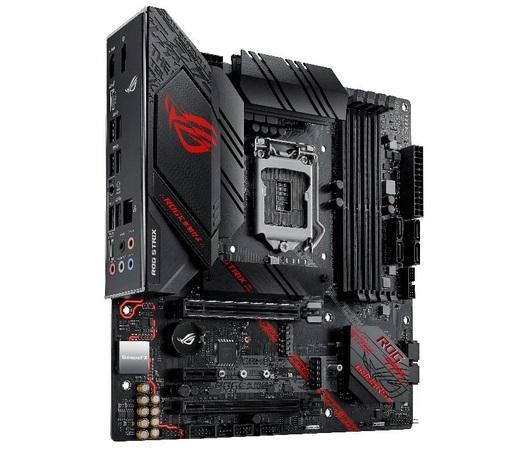 ASUS MB Sc LGA1200 ROG STRIX B460-G GAMING, Intel B460, 4xDDR4, VGA, mATX, 90MB1460-M0EAY0
