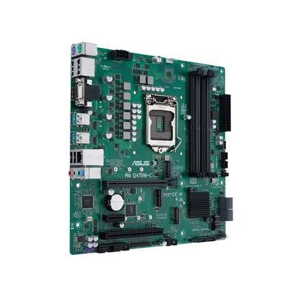 ASUS MB Sc LGA1200 PRO Q470M-C/CSM, Intel Q470, 4xDDR4, VGA, mATX, 90MB1380-M0EAYC