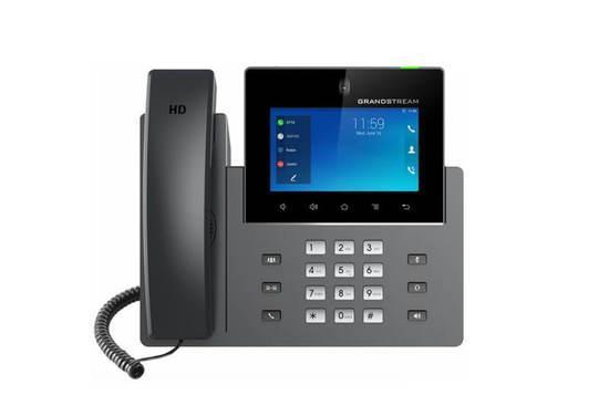 "Grandstream GXV3350 SIP video telefon, 5"" dot. displ., 16 SIP účty, 2x1Gb, Android, WiFi, BT, PoE+, GXV3350"