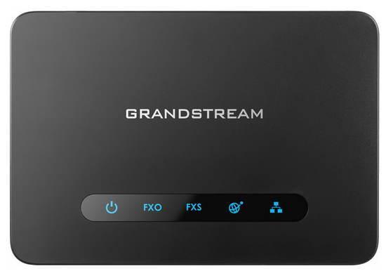 Grandstream HT813 1FXS,1FXO ATA brána, 2 SIP úč, 2x100Mb LAN, NAT router, 3-way konf., provisioning, HT813