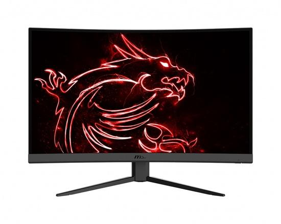 "MSI Gaming monitor Optix G32CQ4, 31.5"" zakřivený /2560 x 1440 (WQHD)/VA LED, 165Hz/1ms/3000:1/250cd / m2 /2xHDMI/DP, Optix G32CQ4"