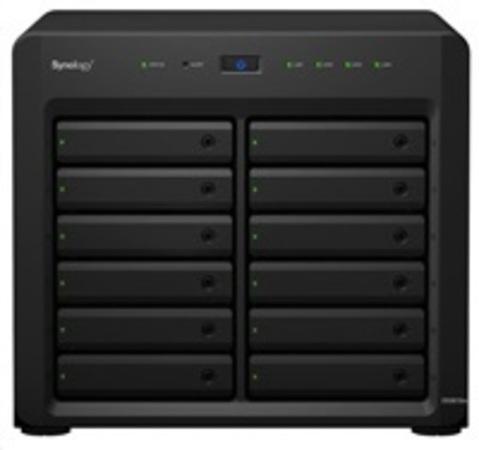 Synology DS3617xs DiskStation (4C/XeonD-1527/2,2-2,7GHz/16GBRAM/12xSATA/2xUSB3.0/4xGbE/1xPCIe), DS3617xs