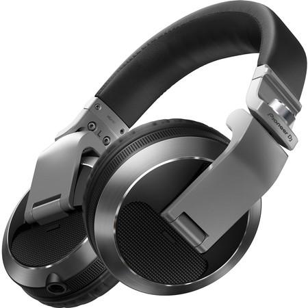 Sluchátka Pioneer DJ HDJ-X7-S - stříbrná