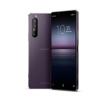 Mobilní telefon Sony Xperia 1.II - fialový