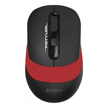 A4tech FG10, FSTYLER bezdrátová myš, 2000DPI, USB, červená, FG10 Red