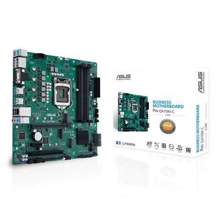 ASUS MB Sc LGA1200 PRO Q470M-C/CSM, Intel Q470, 4xDDR4, VGA, mATX