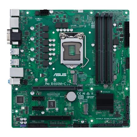 ASUS MB Sc LGA1200 PRO B460M-C/CSM, Intel B460, 4xdDR4, VGA, mATX