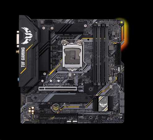 ASUS TUF GAMING B460M-PLUS (WI-FI), 90MB1440-M0EAY0