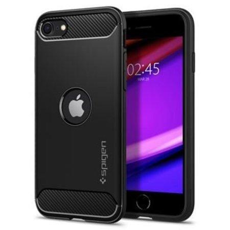 Spigen Rugged Armor kryt Apple iPhone SE(2020) černý
