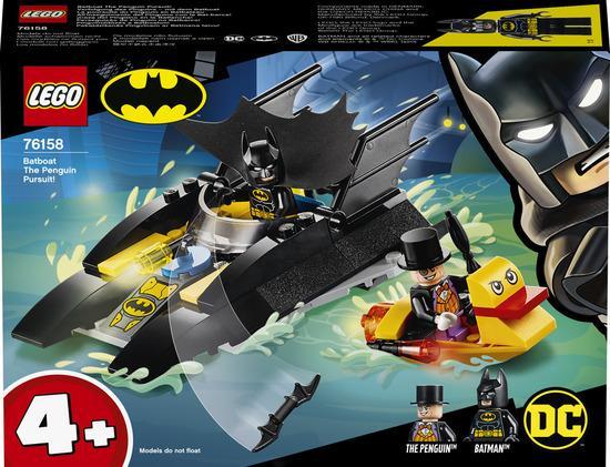 Lego Super Heroes Pronásledování Tučňáka v Batmanově lodi