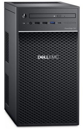 Server Dell PowerEdge T40 Xeon E-2224G, 8GB, 3x 1TB (7200) RAID 5, DVDRW, 3Y NBD, T40-831-3PS